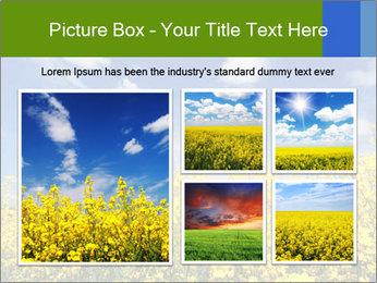 Ukrainian Field Landscape PowerPoint Template - Slide 19