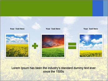 Ukrainian Field Landscape PowerPoint Template - Slide 22