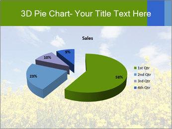 Ukrainian Field Landscape PowerPoint Template - Slide 35