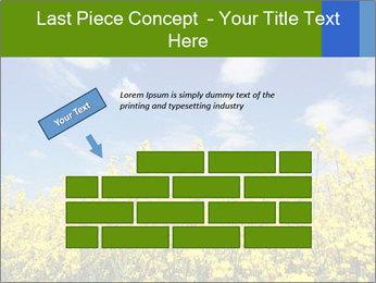 Ukrainian Field Landscape PowerPoint Template - Slide 46