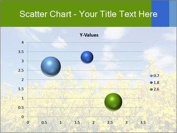 Ukrainian Field Landscape PowerPoint Template - Slide 49