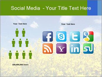 Ukrainian Field Landscape PowerPoint Templates - Slide 5