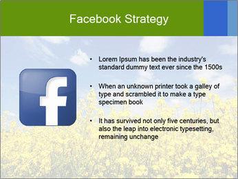 Ukrainian Field Landscape PowerPoint Template - Slide 6