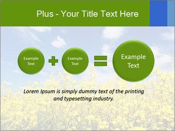 Ukrainian Field Landscape PowerPoint Template - Slide 75