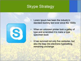 Ukrainian Field Landscape PowerPoint Template - Slide 8