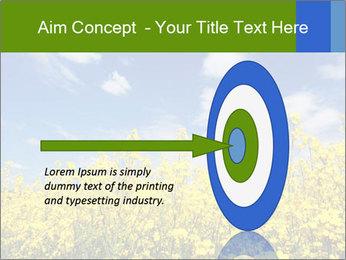 Ukrainian Field Landscape PowerPoint Template - Slide 83