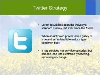 Ukrainian Field Landscape PowerPoint Templates - Slide 9