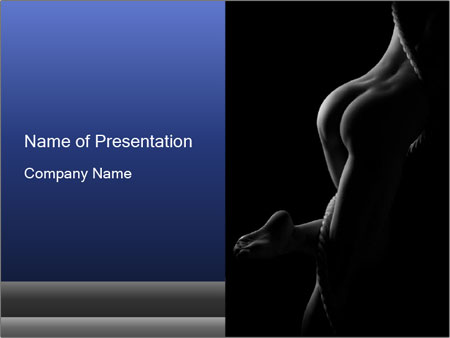 Nudity PowerPoint Template