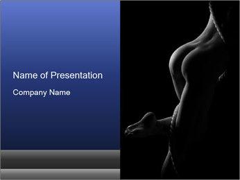 Nudity PowerPoint Templates - Slide 1