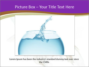 Beautiful Fish in Aquarium PowerPoint Template - Slide 15
