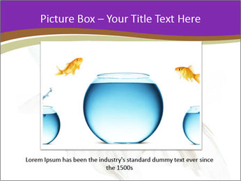 Beautiful Fish in Aquarium PowerPoint Template - Slide 16