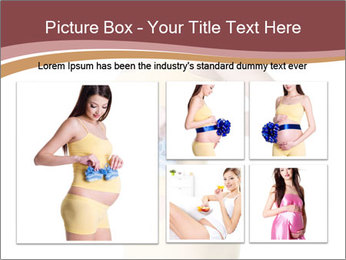 Pregnant Woman with Blue Socks PowerPoint Templates - Slide 19