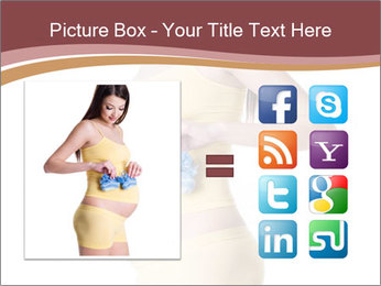 Pregnant Woman with Blue Socks PowerPoint Templates - Slide 21