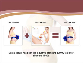 Pregnant Woman with Blue Socks PowerPoint Templates - Slide 22