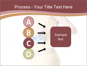 Pregnant Woman with Blue Socks PowerPoint Templates - Slide 94