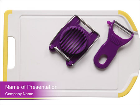 Kitchen Utensils for Cooking PowerPoint Templates