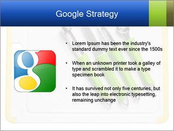 Green Kitchen Utensils PowerPoint Templates - Slide 10