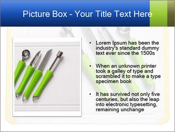 Green Kitchen Utensils PowerPoint Template - Slide 13