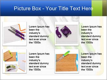 Green Kitchen Utensils PowerPoint Templates - Slide 14