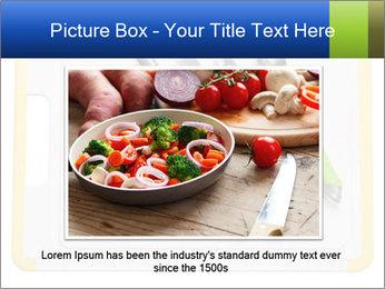 Green Kitchen Utensils PowerPoint Templates - Slide 15