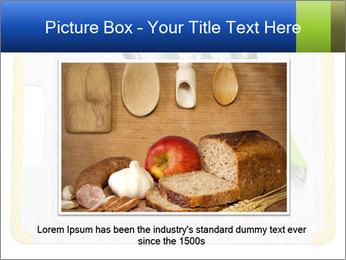 Green Kitchen Utensils PowerPoint Templates - Slide 16