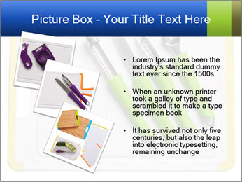 Green Kitchen Utensils PowerPoint Templates - Slide 17