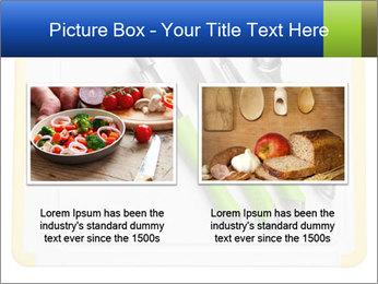 Green Kitchen Utensils PowerPoint Templates - Slide 18