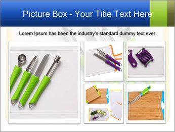 Green Kitchen Utensils PowerPoint Template - Slide 19