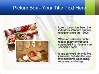 Green Kitchen Utensils PowerPoint Templates - Slide 20