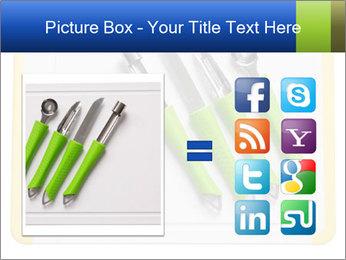 Green Kitchen Utensils PowerPoint Templates - Slide 21