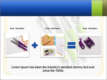 Green Kitchen Utensils PowerPoint Templates - Slide 22