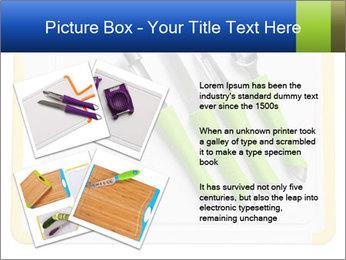 Green Kitchen Utensils PowerPoint Template - Slide 23