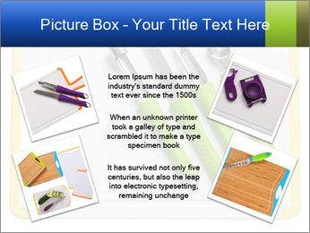 Green Kitchen Utensils PowerPoint Templates - Slide 24