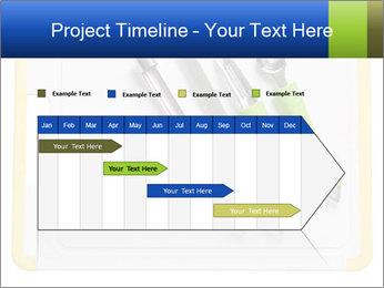 Green Kitchen Utensils PowerPoint Templates - Slide 25