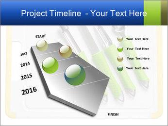 Green Kitchen Utensils PowerPoint Templates - Slide 26