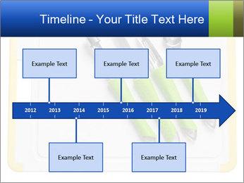 Green Kitchen Utensils PowerPoint Templates - Slide 28