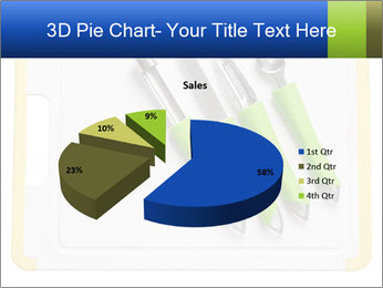 Green Kitchen Utensils PowerPoint Templates - Slide 35