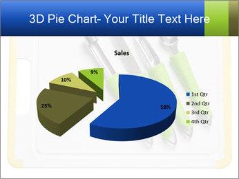 Green Kitchen Utensils PowerPoint Template - Slide 35