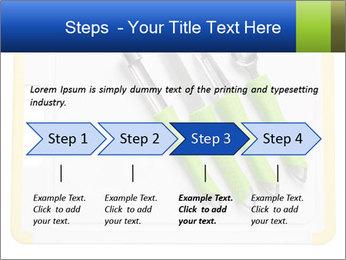 Green Kitchen Utensils PowerPoint Template - Slide 4