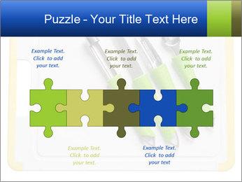 Green Kitchen Utensils PowerPoint Template - Slide 41
