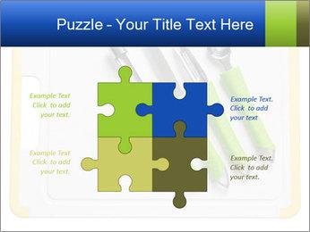 Green Kitchen Utensils PowerPoint Template - Slide 43