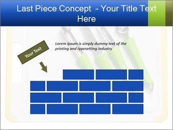 Green Kitchen Utensils PowerPoint Template - Slide 46