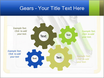 Green Kitchen Utensils PowerPoint Template - Slide 47