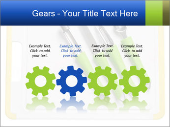 Green Kitchen Utensils PowerPoint Templates - Slide 48