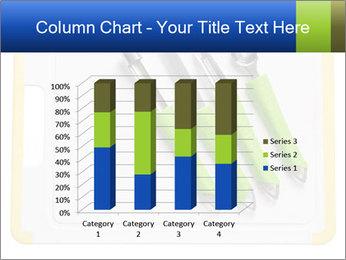 Green Kitchen Utensils PowerPoint Template - Slide 50
