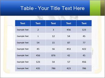Green Kitchen Utensils PowerPoint Template - Slide 55