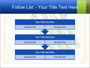 Green Kitchen Utensils PowerPoint Template - Slide 60