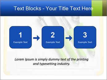 Green Kitchen Utensils PowerPoint Template - Slide 71