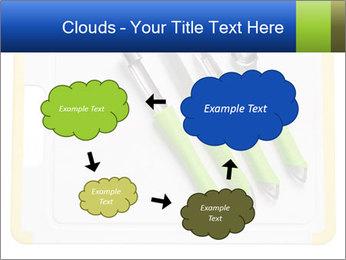 Green Kitchen Utensils PowerPoint Template - Slide 72