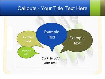 Green Kitchen Utensils PowerPoint Templates - Slide 73